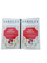 Yardley London Apple Blossom Limited Edition Soap Bars 4.25 Oz Each - 2 Pack - $13.81