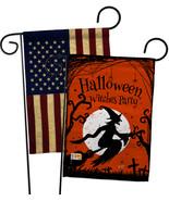 Witches Party - Impressions Decorative USA Vintage - Applique Garden Fla... - $30.97