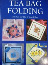 tea bag folding crafts book janet wilson  crafts quilling hobby - $11.88
