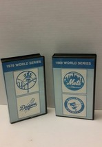Baseball World Series VHS Tapes 1978 Yankees Dodgers 1969 Mets Orioles - $28.05