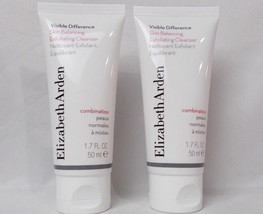 Elizabeth Arden Skin Balancing Cleanser 1.7 oz Travel size Lot of 2 - $11.29