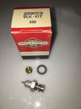 3 OEM Briggs & Stratton Needle Valve Kit 299059 New fits 2-3hp New*B8411... - $9.99