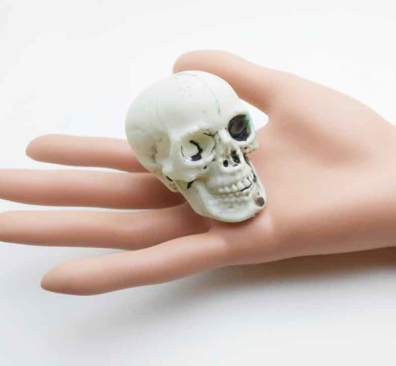 Halloween Skull Silicone Chocolate Mold Interesting Skull