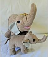 Ringling Bros Barnum & Bailey Circus Mom & Baby Elephant Plush Set Tags ... - $24.99