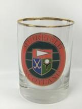 Clear Glass Tumbler Drink Glass Cup Bar Ware Muirfield Scotland Souvenir... - $19.60