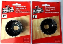 "Vermont American 18332 2"" Carbon Hole Saw 2PKS - $2.97"