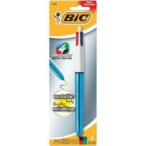 Bic 4 Color Metallic Ballpoint Pen - Choose from 5 Colors! 19280 - $6.29