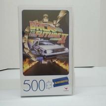 Retro Blockbuster VHS Case Back To Future II Movie Poster 500 Piece 18x2... - $16.00