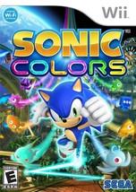 Sonic Colors - Nintendo Wii - $24.37