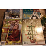 Lot Of 4 Scrapbooking Magazines & Beyond Simple Memory Makers 1990s 2000s - $9.89