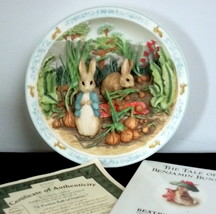 Bradford Exchange Pocket Full of Onions Beatrix Potter Musical Plate and... - $9.89