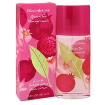 Green Tea Pomegranate Eau De Toilette Spray 3.3 Oz For Women  - $24.03
