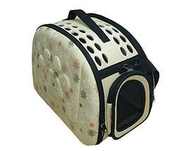 Pet Carry Bag Travel Tote Soft-Sided Carriers For Dog Or Cat, Carrier Ba... - £32.83 GBP