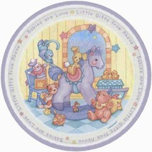 Babies Are Love Dessert Plates Birthday Party Baby Shower Supplies 8 Per Package - $5.89