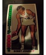 Bobby Jones 1976-77 Topps Basketball Card #144 VG Denver Nuggets - $1.79