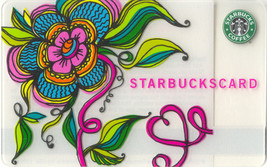 Starbucks 2007 Valentines Flower Collectible Gift Card New No Value - $4.99