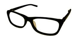 Jones New York Mens Plastic Rectangle Eyewear Frame,  Black J758. 53mm - $35.99