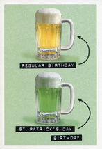 Regular Birthday  St. Patrick's Birthday Card - $3.49