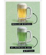 Regular Birthday  St. Patrick's Birthday Card - $3.49