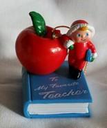 Someone Special - Teacher - Avon Christmas Ornament - $7.99