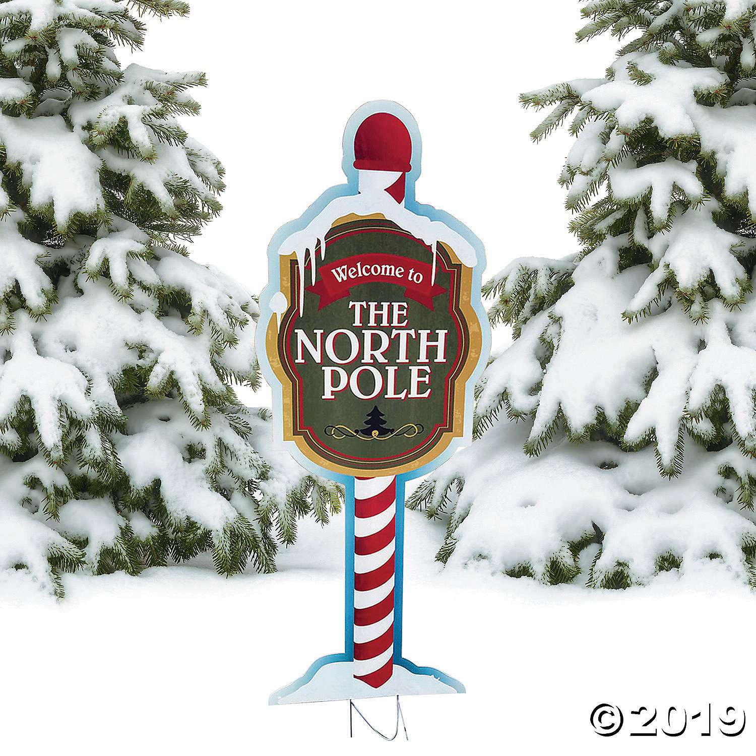 Primary image for North Pole Yard Sign