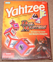 YAHTZEE JR DUEL MASTERS DICE GAME 2004 PARKER BROTHERS HASBRO EXCELLENT - $8.00