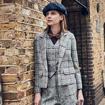 Women Pant Suits Ladies Fashion Office Business Tuxedos Suits Jacket+Pants+Vest  image 1