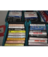 Music Cassettes , Assorted Lot of 30 , Holly , Elvis , Mathis , Oldies ,... - $60.00