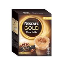 NESCAFE GOLD Dark Latte Premix Instant Coffee i... - $18.99