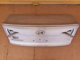 15-17 Hyundai Sonata Trunk Lid W/o Camera Spoiler or Taillights image 5