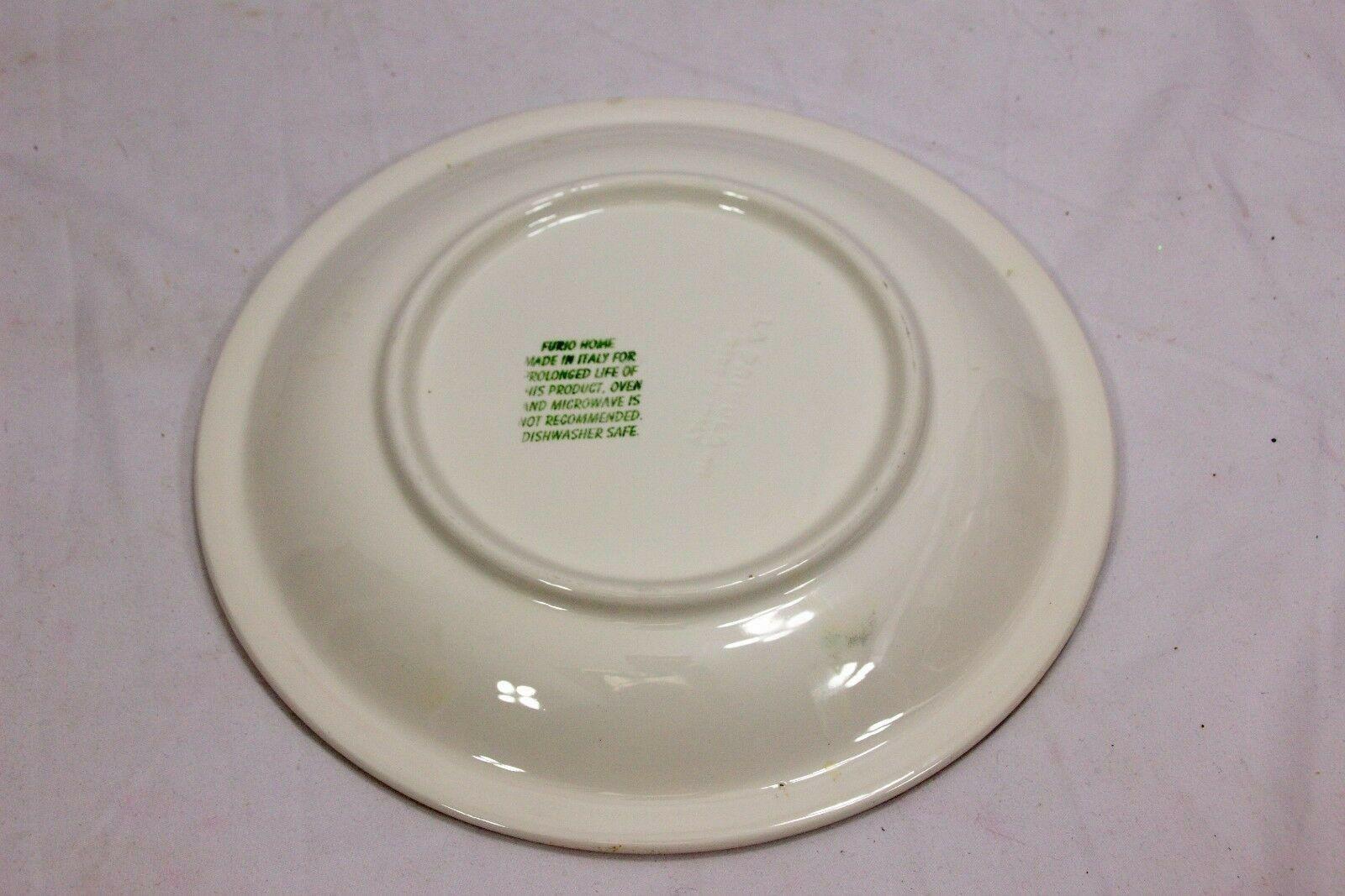 """Furio Xmas Tree Dinner Plates Sponge 10.25"""" Set of 12 image 7"""