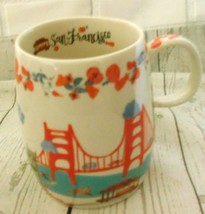 San Francisco Golden Gate  Grace Cathedral Haight Ashbury Cable Car Cera... - $18.49