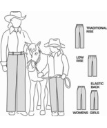 Suitability 2250 Womens & Girls Western Showmanship Show Pants Sewing Pa... - $8.00
