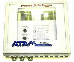 ATAM SYSTEMS PROCESS DATA LOGGER I/N 2360 WITH HOFFMAN A14128CHQRFGW ENCLOSURE