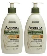Aveeno Daily Moisturizing Lotion with Sunscreen, SPF 15-12 oz - 2 pk - $23.17