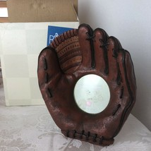 Russ Berrie Yesterdays Ballgame Baseball Mitt Handpainted Photo Frame #1... - €14,43 EUR