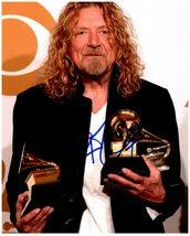 ROBERT PLANT  Signed Autographed 8X10 Photo w/ Certificate of Authenticity 968 - $95.00