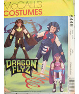 McCalls 3758 Dragon Flyz Costume Med 7 and 8 1996 OOP - $8.95