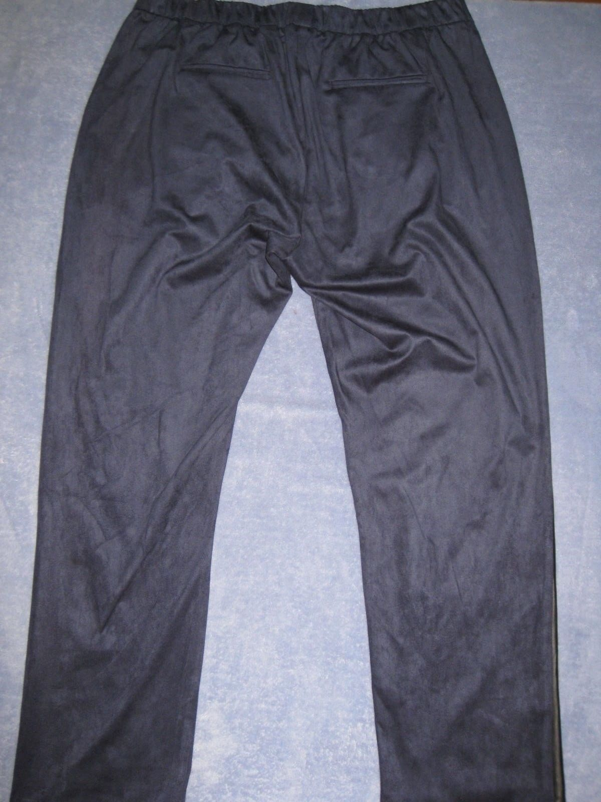 Pants Mynt 1792 Faux Suede Pegged Pleat Tuxedo Pants NEW 16W NWT $188