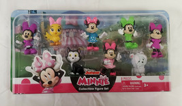 NEW SEALED 2019 Just Play Disney Junior Minnie Mouse Action Figure Set of 8 - $19.79