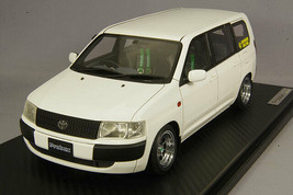 ignition model 1/18 IG1644 Toyota Probox GL NCP51V White Hayashi Racing Stickers - $401.45