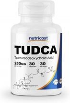 Nutricost Tudca 250mg, 30 Capsules (Tauroursodeoxycholic Acid) - Gluten ... - $113.20