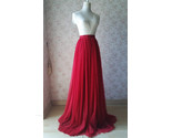 Red tulle bridesmaid wedding skirt 38 750 01 thumb155 crop