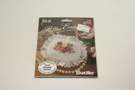 1995 Bucilla #41248 Ribbons and Lace 3.5 x 2.5 Ribbon Embroidery Kit NOS - $7.91