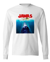 JAWAS Star Wars long sleeve T-shirt C3PO JAWS retro 70s parody100% cotton image 1