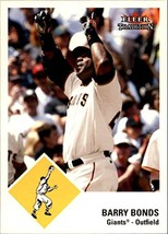 2003 Fleer Tradition Update #99 Barry Bonds - $2.95