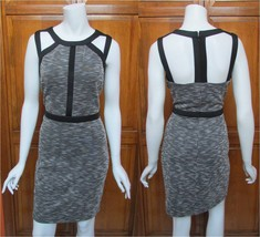 Guess Tweed Cut Out Neckline & Back Sleeveless Above Knee Dress NWT Sz 10 - $34.10