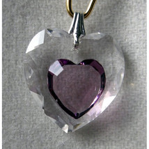 18mm Enhanced Crystal Flat Heart Hair Jewel image 7