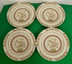 Copeland Spode BUTTERCUP Luncheon Plate (s) LOT OF 4 England Older Backs... - $49.45