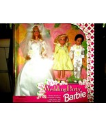 1994 Barbie Wedding Party Gift set with Stacie & Todd Dolls #13557 New S... - $34.64